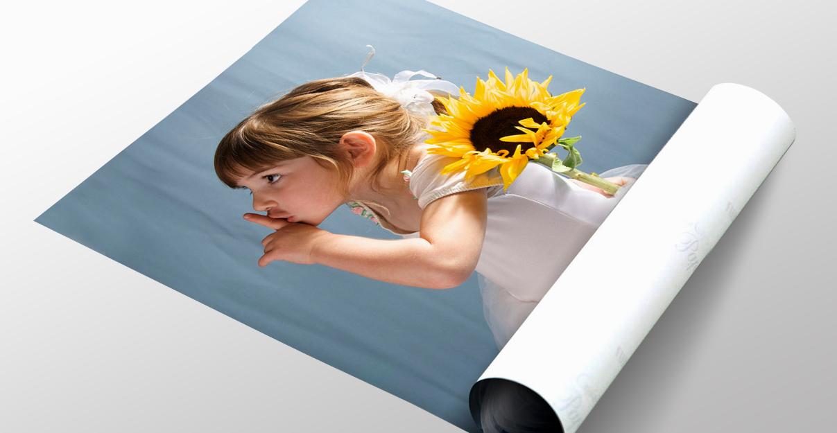 Печать плакатов на фотобумаге