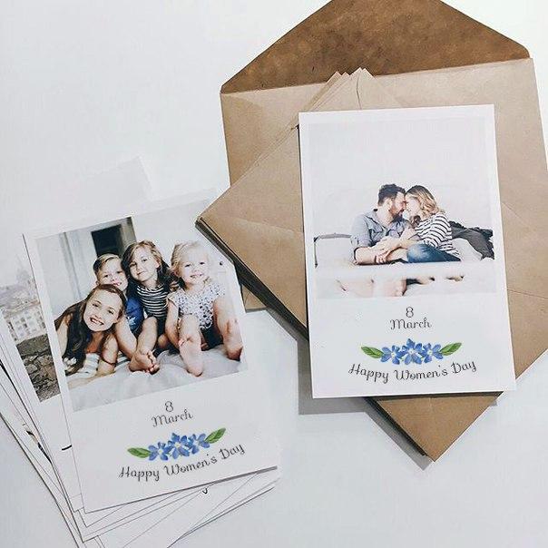 Или картинки, печать открытки со своим изображением спб